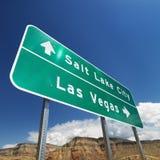 znak drogowy na południowy zachód Zdjęcie Royalty Free