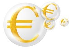 znak euro royalty ilustracja