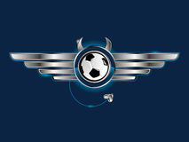 znak futbolu Obraz Royalty Free