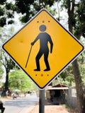 Znak inwalidzcy ludzie obraz stock