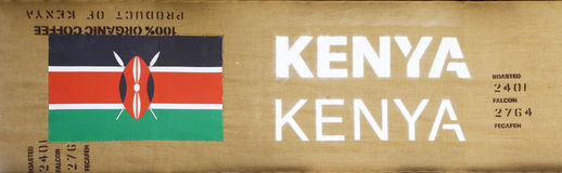 Znak Kenja w expo 2015, Mediolan Obrazy Royalty Free