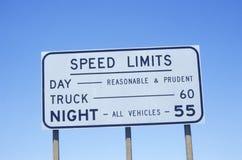 Znak który czyta ï ¿ ½ prędkości Limitsï ¿ ½ Obrazy Royalty Free