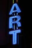 znak neon Obrazy Stock