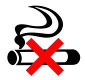 znak nie palić Fotografia Stock