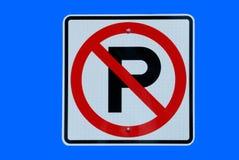 znak nie parkować obraz royalty free