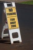 znak nie parkować fotografia royalty free