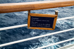 Znak ostrzegawczy Obrazy Stock