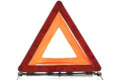 Znak ostrzegawczy trójbok Zdjęcie Stock