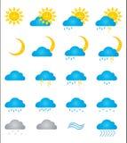 znak pogoda ilustracja wektor