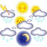 znak pogoda Royalty Ilustracja