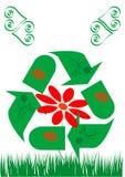 znak recyklingu Fotografia Stock