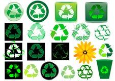 znak recyklingu Zdjęcie Stock