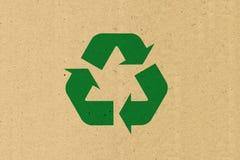 znak recyklingu Zdjęcia Royalty Free