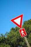 znak ruchu Fotografia Royalty Free