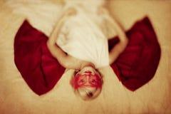 Znak sprawiedliwości kobiety fotografia Obrazy Stock