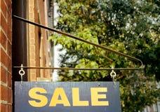 znak sprzedaży Obrazy Stock