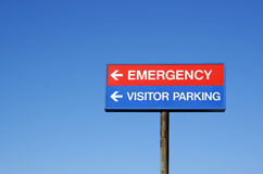znak szpitala Zdjęcie Royalty Free