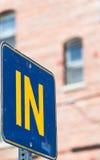 Znak uliczny zdjęcie stock