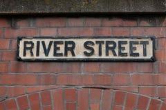 Znak uliczny w Bristol obrazy royalty free