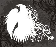 znak wektora orła royalty ilustracja