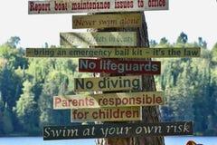 Znak, znak Wszędzie znak obraz royalty free