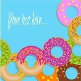 Znak z donuts Obraz Stock