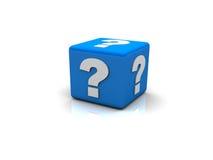 Znak zapytania pudełko Obraz Stock
