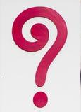 Znak znak zapytania Zdjęcie Royalty Free