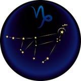 znak zodiaku capricorna Zdjęcia Royalty Free
