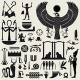 znaka 2 egipskiego symbolu Obrazy Stock