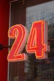 24 znaka Obraz Royalty Free