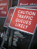 znaka drogowy ruch drogowy Obrazy Royalty Free