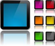 znaka nowożytny kwadrat Obrazy Stock