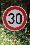znaka ruch drogowy Zdjęcie Royalty Free