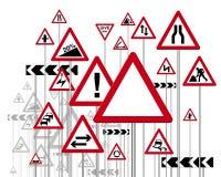 znaki drogowe Fotografia Stock