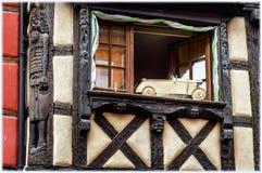 Znaki handel w Alsace fotografia royalty free