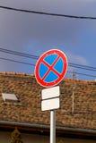 Znaki na drodze royalty ilustracja
