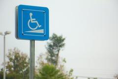 znaki niepełnosprawnych Fotografia Royalty Free
