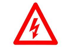 Znaki ostrzegawczy Fotografia Royalty Free