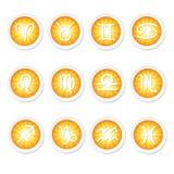 Znaki zodiak Obraz Stock