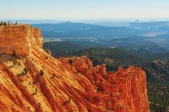 Znakomita rockowa formacja bryce jar hoodoos park narodowy Obraz Stock