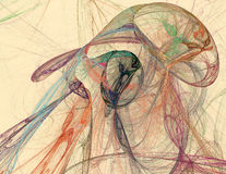 Znakomite abstrakt formy ilustracja wektor