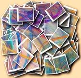Znakomite kolorowe abstrakt postacie ilustracji