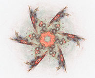 Znakomite kolorowe abstrakt postacie ilustracja wektor