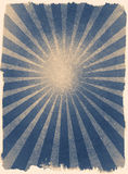 Znakomity grunge obramiający słońce promieni rocznika tło Obrazy Royalty Free
