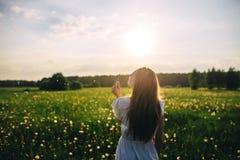 Znakomity lato słoneczny dzień zdjęcia stock