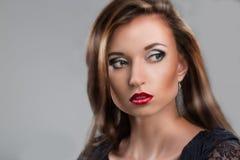 Znakomity portret dziewczyna Zdjęcia Stock