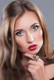 Znakomity portret dziewczyna Zdjęcia Royalty Free