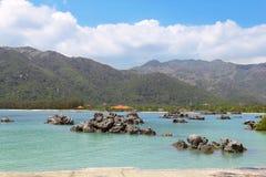 Znakomity seascape widok zdjęcie royalty free