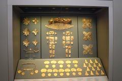 Znalezienia od Hołobelnego Grób: Złociści ornamenty Obrazy Stock